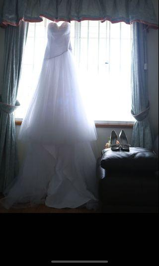Wedding dress was $3500, now for only $1500