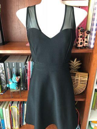 Forever 21 black dress L