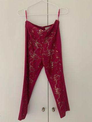 Lace pants - Lover label