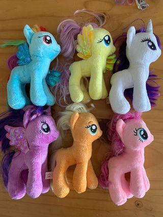 My Little Pony plushies soft toy