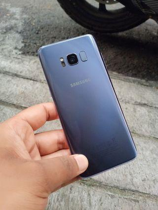 Samsung s8 warna grey