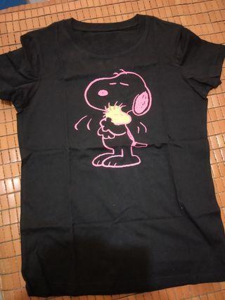 純棉 :史努比T shirt