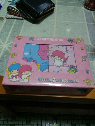 Sanrio - Little Twin Stars 立體六面拼圖一盒