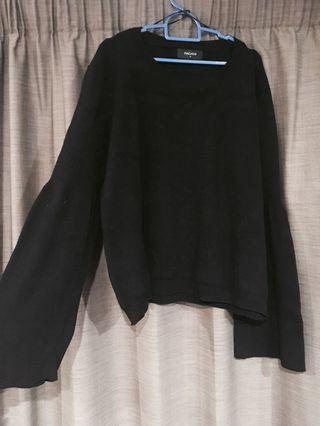 Pagani black knitted jumper