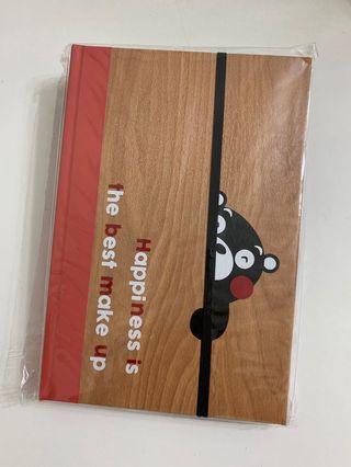 熊本熊記事簿 Kumamon Notebook (筆記簿連貼紙)