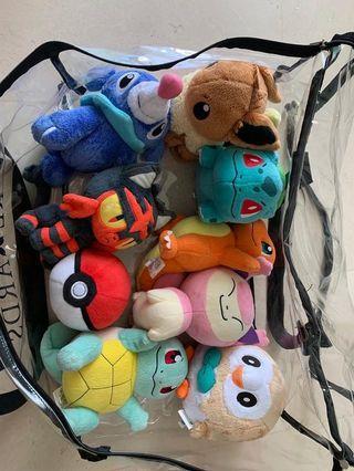 Pokémon soft toys