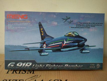 Model kit jet fighter Bomber