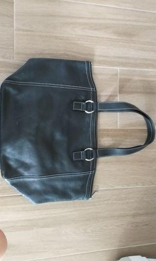 Black color handbag