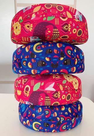 Pretty Silk Sun Glasses boxes