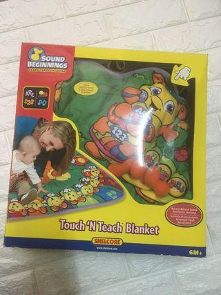 Touch N Teach Blanket