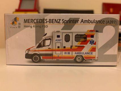 微影 #162救護車(A397)