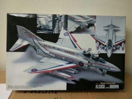 Vintage 1988 Model kit jet ROYAL AIRFORCE BRITISH