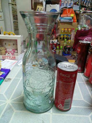 Coca Cola 可口可樂 - 10吋高浮雕花瓶一個