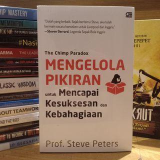 Mengelola Pikiran karya Prof. Steve Peters