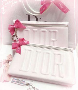 Counter offer ~ Dior XL pink clutch