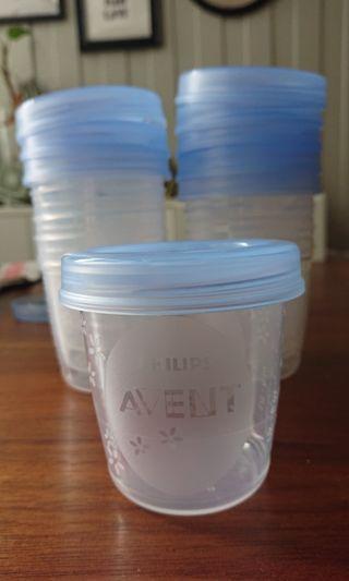 (包郵)Philips Avent 儲奶瓶