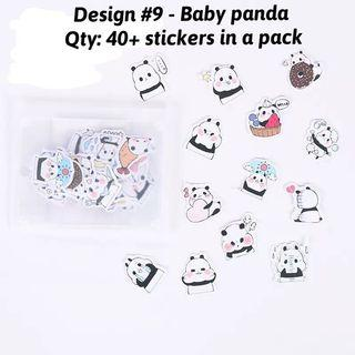 🚚 Cute paper stickers for handcraft / decoration [instock]