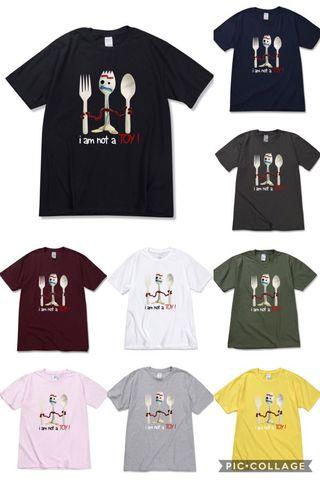 Toy Story 反斗奇兵4 小叉 Forky T-Shirt
