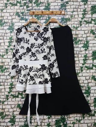 Set Blouse+Skirt