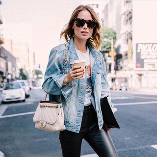 Anine Bing Caroline Denim Jacket - Size XS RRP $500