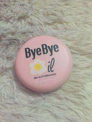 Authentic Beautymaker Bye Bye Oil Blotting Powder.