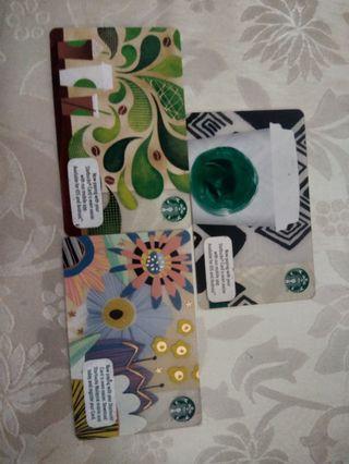 Starbucks Cards (Buy 3 for RM15) #CarousellFaster
