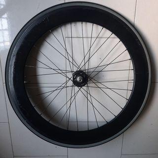 70mm front wheel