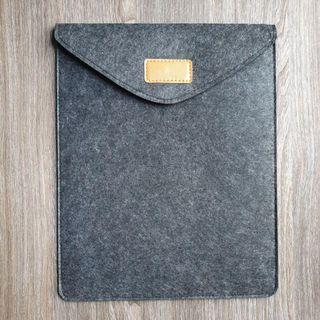 [Instocks] Dark Grey Felt iPad Pro Sleeve