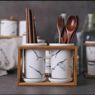 READY STOCK Cutlery holder / utensil