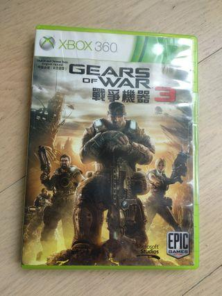Xbox 360 gears of war 3 Xbox one