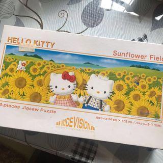 Hello Kitty Puzzle 太陽花 砌圖