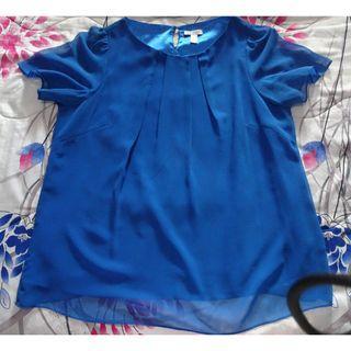 🚚 Colette chiffon blue blouse UK 18