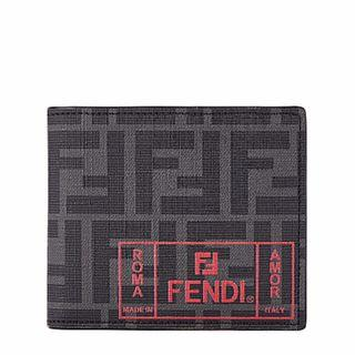 Fendi Grey monogrammed wallet