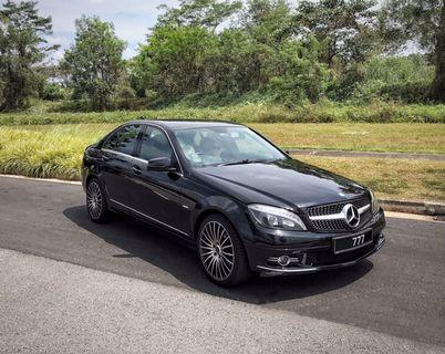 From $22! Monstertuned Mercedes C180K for Daily/Hourly/Special Event Rental