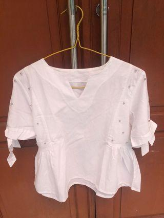 REPRICE!!! White Blouse