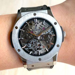 [ SOLD ] Hublot Classic Fusion Skeleton 45mm