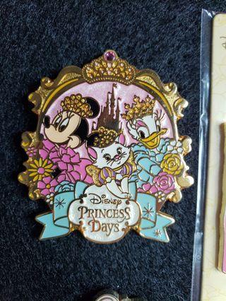 Marie donald daisy minnie disney pin