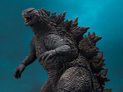 SHM 哥斯拉2019 Godzilla 剛開盒,跟全新,有盒,齊配件