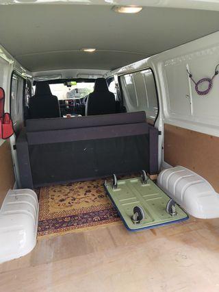 Van delivery services