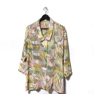 """MANUKA"" Vintage Abstract Shirt"