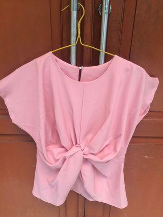 REPRICE!! Blouse Pink