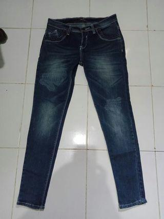 Celana strech jean size 27