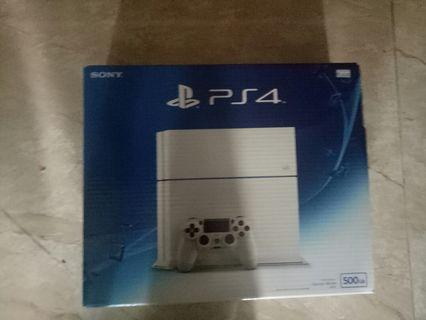 Ps4 white 500 gb