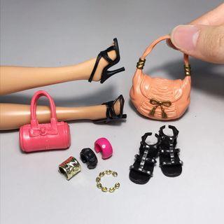 Barbie Style in Modern City
