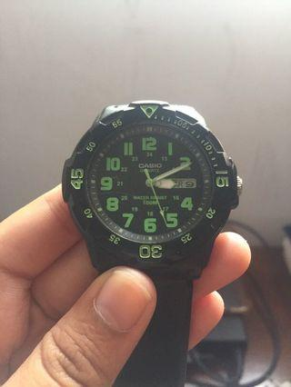 Casio watch analog original