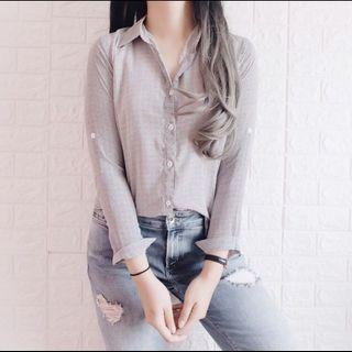 mono alba shirt ( kurus look )