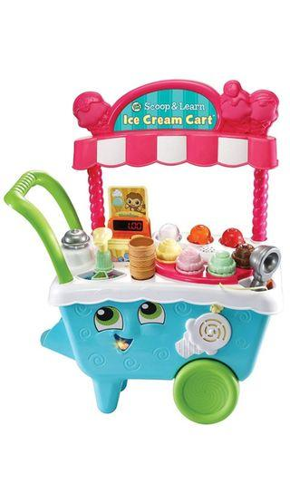 Leapfrog Scoop & Learn Ice Cream Cart not vtech fisherprice little tikes leap frog