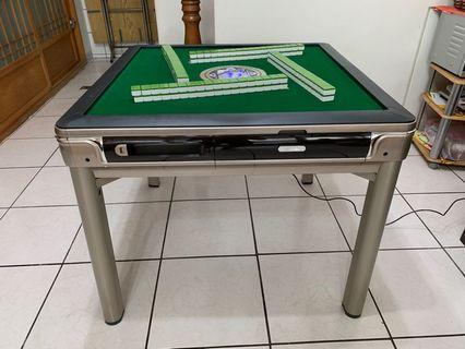 餐桌款-全新過山車超靜音電動麻將桌,USB充電,免推牌