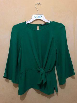 #luckyoetama blouse berskha warna hijau