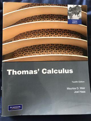 🚚 NTU textbook - Thomas Calculus (12th Edition)